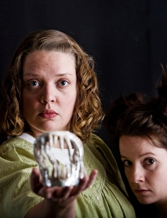 Beth Wood and Faye Hargate in the CPT/Theater Ninjas production of Anna Bella Eema